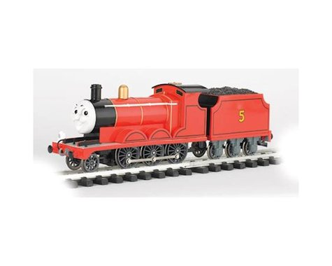 Bachmann G James The Red Engine w/Moving Eyes