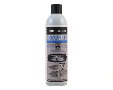 Badger Air-brush Co. Propel Can (13oz) (Propellant for Spray Painting)