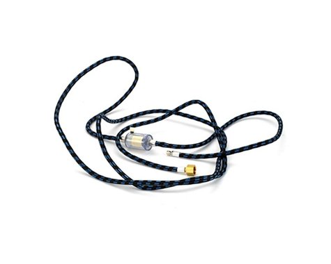 10'Braided Hose with In-Line Trap