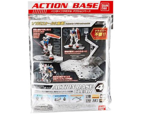 Bandai Gundam Action Base 4  (Clear)