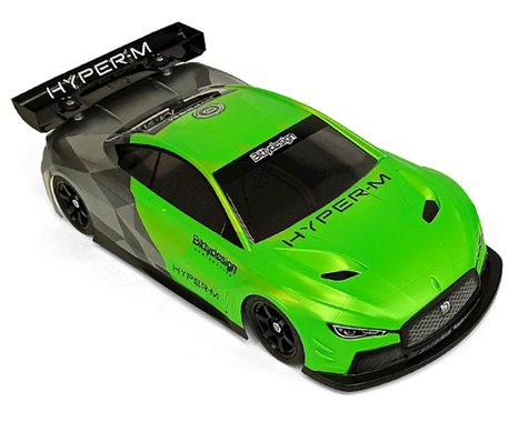 Bittydesign Hyper-M M-Chassis 1/10 On Road Body (Clear) (210-225mm)