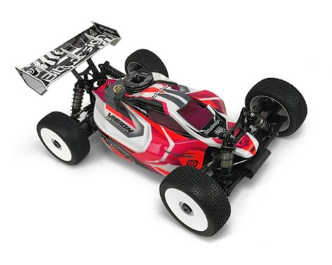 """Bittydesign """"Vision"""" Hot Bodies D819RS Pre-Cut 1/8 Buggy Body (Clear)"""