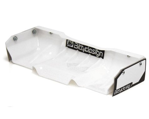 "Bittydesign ""Zefirus"" Lexan 1/8 Buggy & Truggy Wing (White)"
