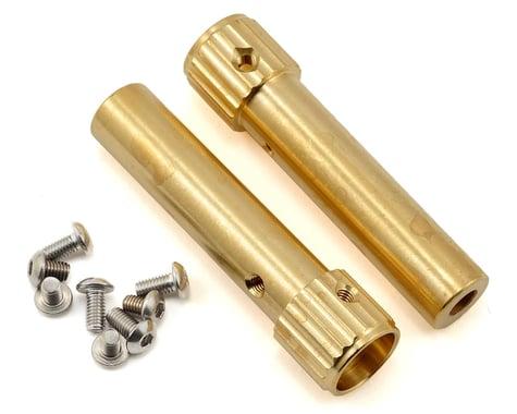 Beef Tubes SCX10 Narrow XR Mod Beef Tubes (Brass)