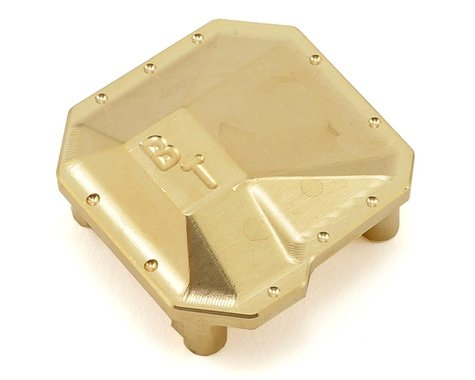 Beef Tubes SCX10 II AR44 Differential Cover (Brass)