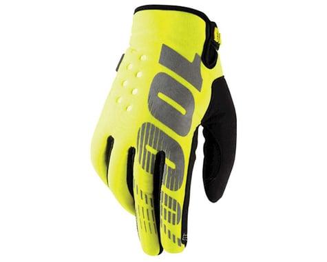 100% Brisker Glove (High Vis Yellow)