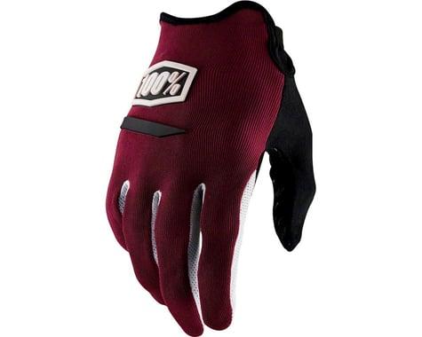 100% Ridecamp Men's Full Finger Glove (Brick)