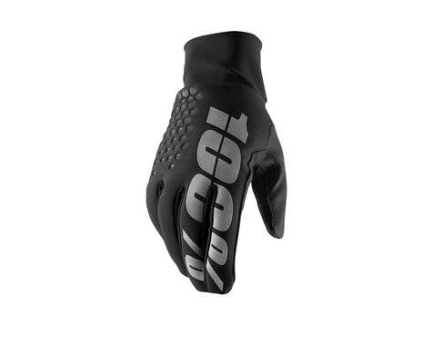 100% Hydromatic Waterproof Brisker Gloves (Black) (2XL)
