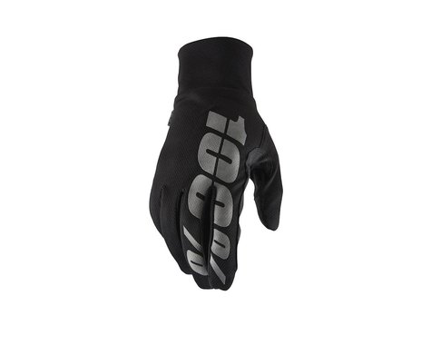 100% Hydromatic Waterproof Gloves (Black) (S)