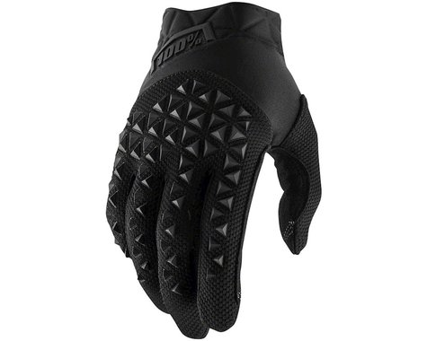 100% Airmatic Full Finger Glove (Black)