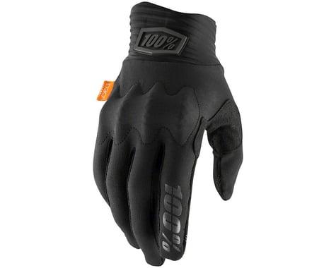 100% Cognito Full Finger Glove (Black/Charcoal) (L)