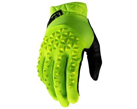 100% Geomatic Gloves (Fluo Yellow) (L)