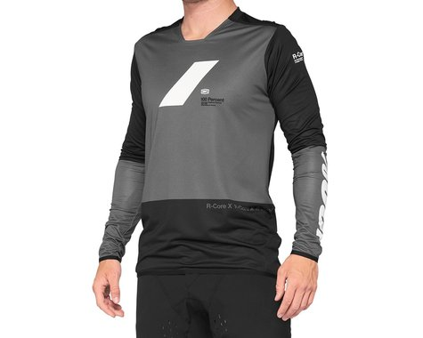100% R-Core X Jersey (Charcoal/Black) (L)