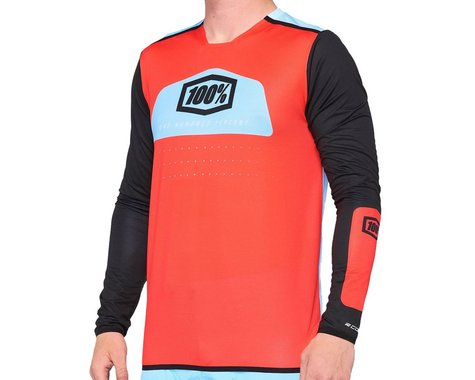 100% R-Core X Jersey Fluo (Red) (S)