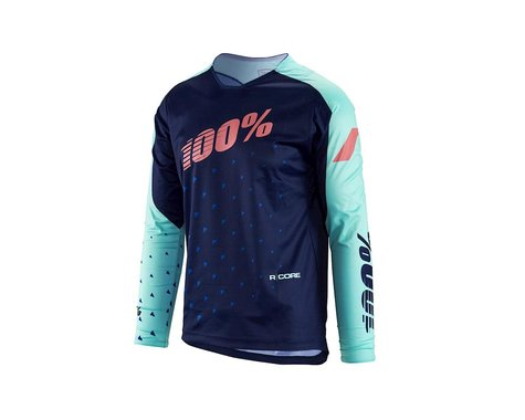 100% R-Core Supra DH LS Jersey (Navy)