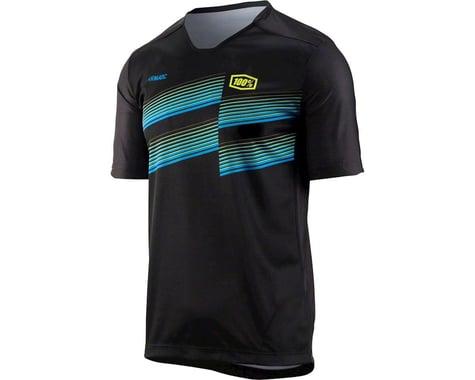 100% Airmatic Men's MTB Jersey (Black) (S)