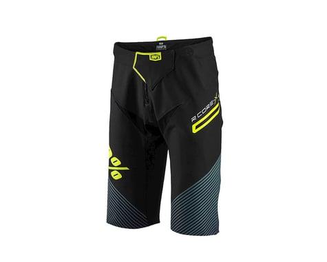 100% R-Core X DH Shorts (Black/Green)