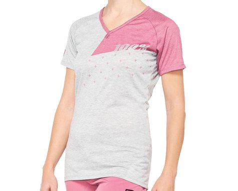 100% Women's Airmatic Jersey (Pink) (M)