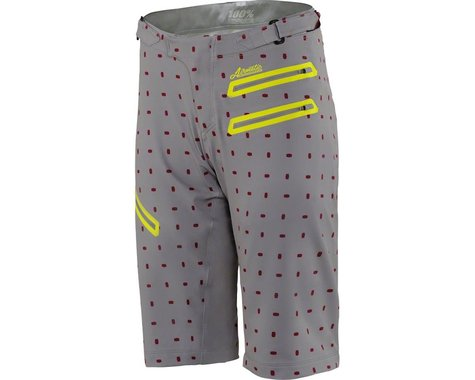 100% Airmatic Women's MTB Short (Grey/White)