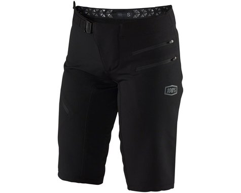 100% Airmatic Women's Short (Black) (L)