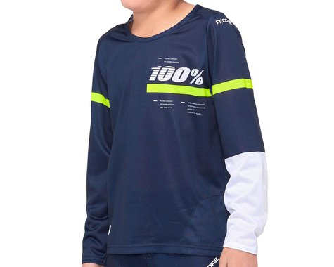 100% R-Core Youth Jersey (Blue) (S)