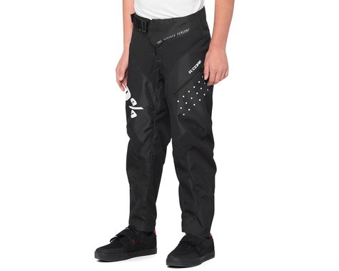 100% R-Core Youth Pants (Black) (Youth M)