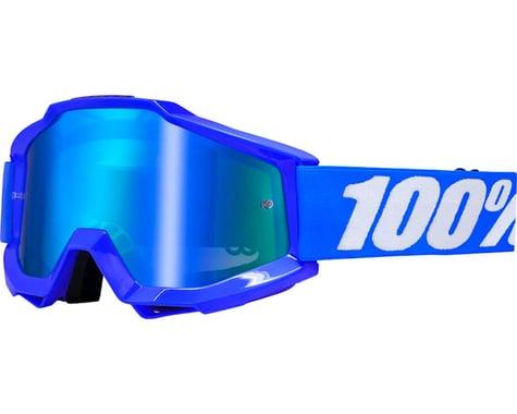100% Accuri Goggle (Reflex Blue) (Mirror Blue & Clear Lens)