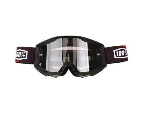 100% Strata Goggle (Slash) (Clear Lens)