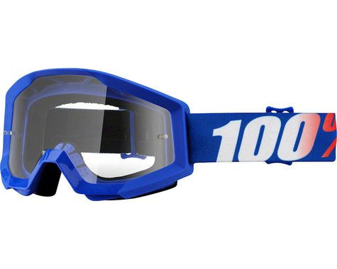 100% Strata Goggle (Nation) (Clear Lens)