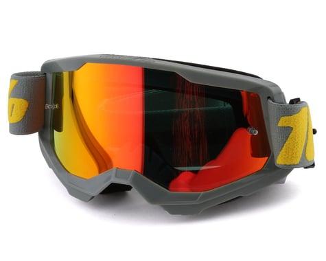 100% Strata 2 Goggles (Izipizi) (Mirror Red Lens)