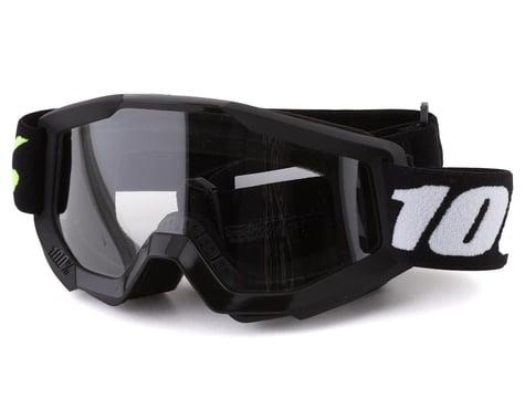 100% Strata Mini Goggles (Black) (Clear Lens)