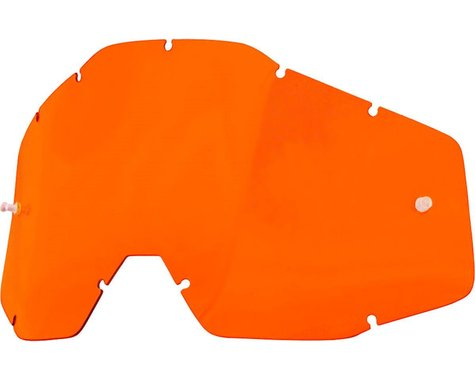100% Replacement Lens (Orange Anti-Fog Lens)