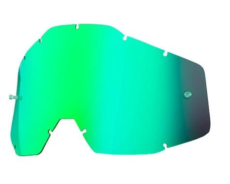100% Replacement Lens (Green Mirror Anti-Fog)