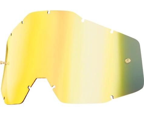 100% Replacement Lens (Gold Mirror/Smoke Anti-Fog)