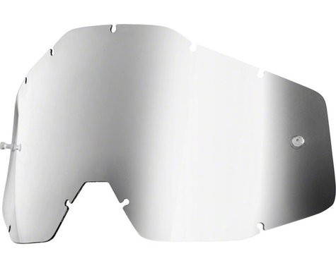 100% Accuri/Strata Youth Replacement Lens (Silver Mirror Anti-Fog)