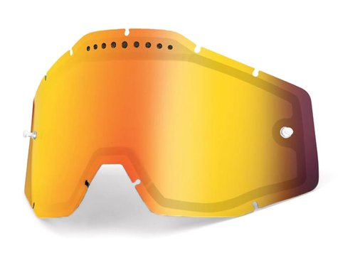 100% Vented Dual Pane Lens (Anti-Fog/Red Mirror)