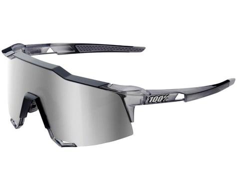 100% Speedcraft Sunglasses (Translucent Grey) (Grey Mirror)