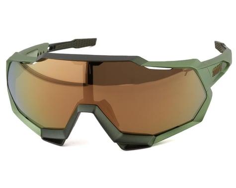 100% Speedtrap Sunglasses (Matte Metallic Viperidae)