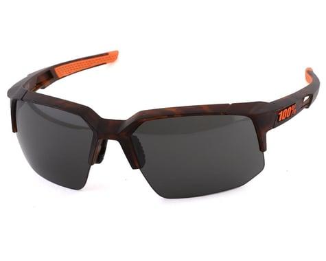 100% Speedcoupe Sunglasses (Matte Dark Havana) (Smoke Lens)