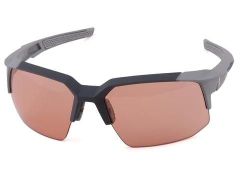 100% Speedcoupe Sunglasses (Soft Tact Stone Grey) (HiPER Coral Lens)