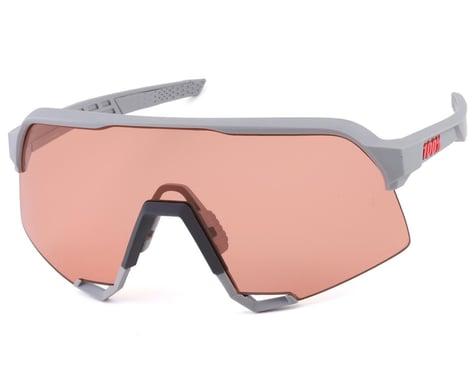 100% S3 Sunglasses (Soft Tact Stone Grey) (HiPER Coral Lens)