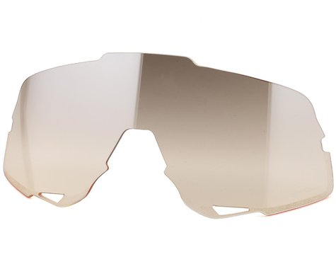 100% Glendale Replacement Lens (Low-light Yellow Silver Mirror)