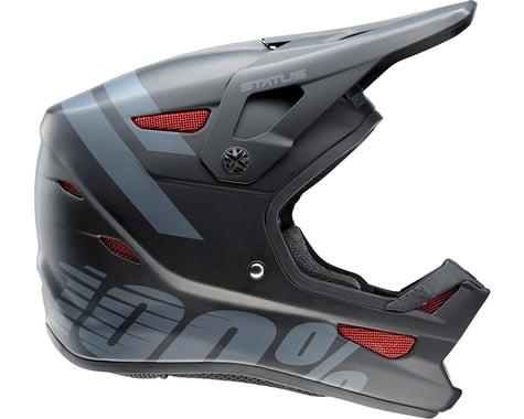 100% Status Full-Face Youth Helmet (Black Meteor)