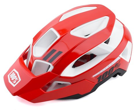 100% Altec Mountain Bike Helmet (Red) (S/M)