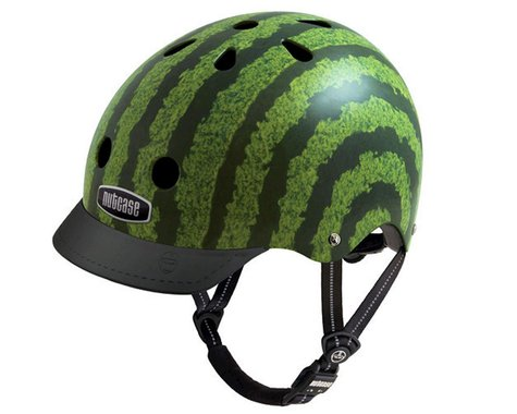 Nutcase Street Helmet: Watermelon MD