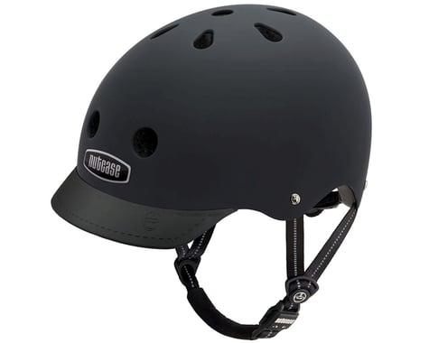 Nutcase Street Helmet: Blackish Matte SM