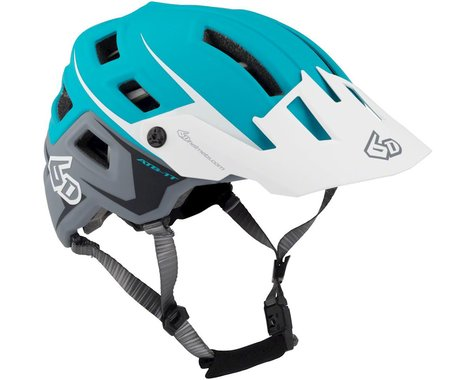 6D Helmets 6D ATB-1T Evo Trail Helmet - Aqua/Gray Matte, X-Small/Small