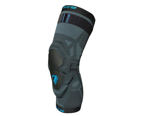 7iDP Project Knee Armor (Black/Grey) (XL)