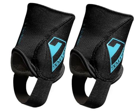 7Idp Control Ankle Guard (Black) (Pair) (S/M)
