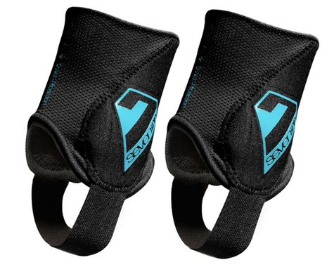 7Idp Control Ankle Guard (Black) (Pair) (L/XL)